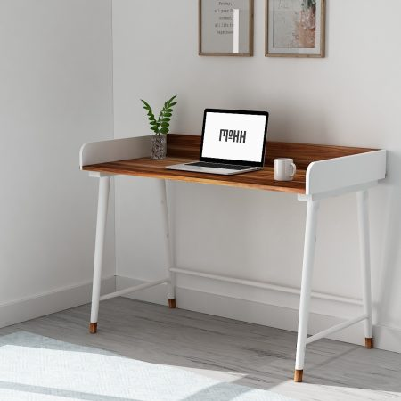 Buy a wooden side table small fresh modern take on a study table accentuated premium duco paint finish to provide a stylish look